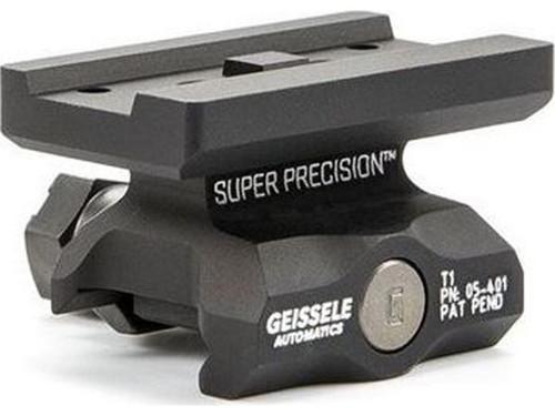 Geissele Automatics Super Precision Aimpoint Micro T1 Optic Mount - Black / Lower 1/3rd