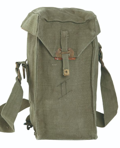 Belgium Armed Forces Olive Drab Gas Mask Bag