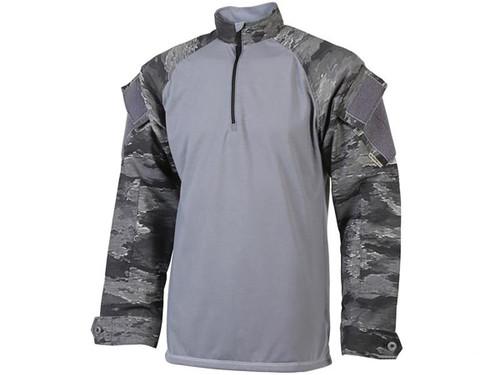Tru-Spec Tactical BDU Xtreme 1/4 Zip Combat Shirt - A-TACS Ghost