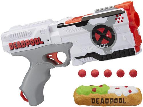 Nerf Rival Deadpool Kronos XVIII-500 Blaster w/ Chimichanga