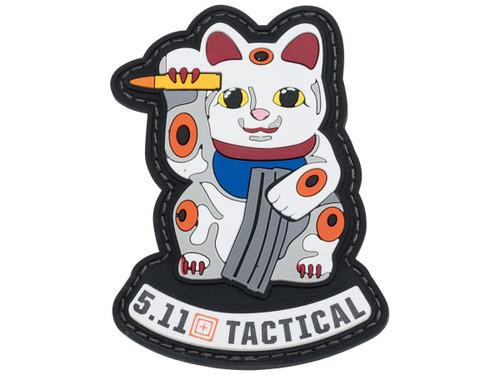 "5.11 Tactical ""Ammo Cat"" PVC Morale Patch (Color: Multicolored)"