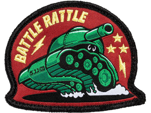 """5.11 Tactical """"Battle Rattle"""" Embroidered Morale Patch"""