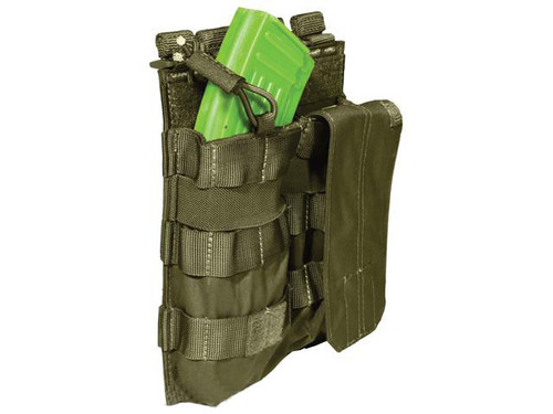 5.11 Tactical AK Double Bungee Cover Magazine Pouch - Tac OD