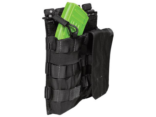 5.11 Tactical AK Double Bungee Cover Magazine Pouch - Black