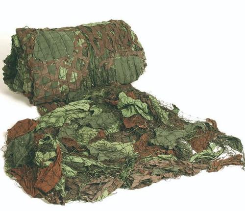 Czech Armed Forces 6X6M Cotton Camo Netting