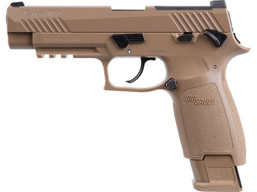 Sig Sauer M17 P320 .177 cal GBB CO2 Air Pistol - Coyote Tan