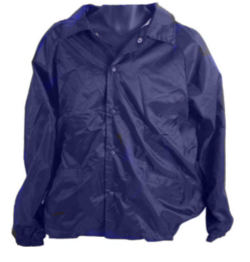 Hero Brand Unlined Coaches Security Jacket - Navy