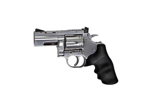 """Dan Wesson 715, 2,5"""" Pellet Airgun, Silver"""