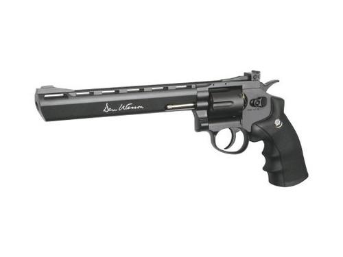 """Full Metal Dan Wesson WG WinGun 8"""" 4.5mm  CO2 Airgun Revolver"""