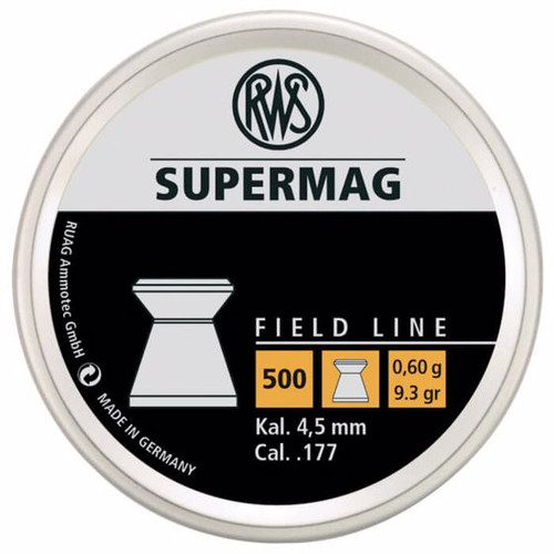 RWS Supermag Field Line .177 500ct