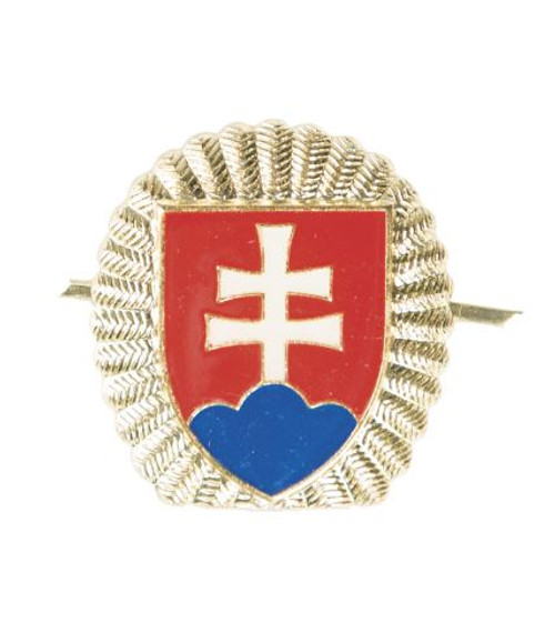 Czech Armed Forces Gold/Silver Cap Insignia