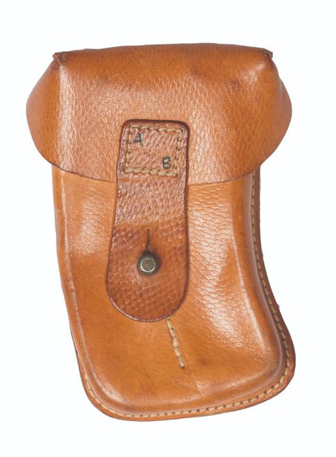 Czech Armed Forces Skorpion Leather 2-Pc. Magazine Pouch