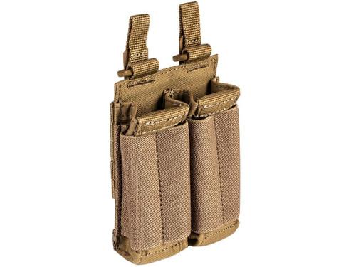 5.11 Tactical Flex Double Pistol Bungee Magazine Pouch - Kangaroo