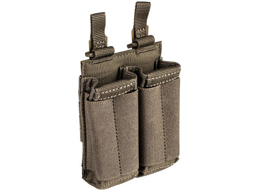 5.11 Tactical Flex Double Pistol Bungee Magazine Pouch - Ranger Green