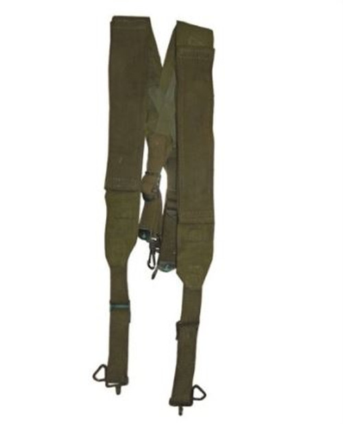 US Armed Forces GI M45 Field Suspenders