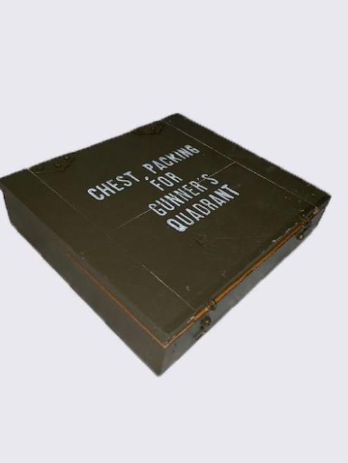 US GI OD Wooden Gunners Box