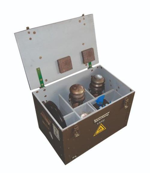 Swiss Armed Forces Petromax Lantern Set W/Box (2-Lanterns)
