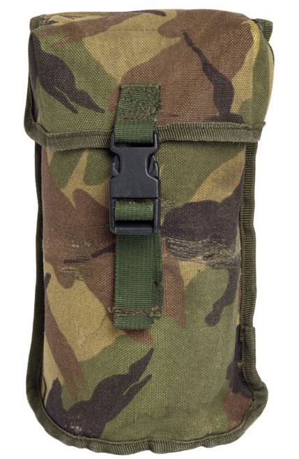 Dutch Armed Forces Camo Molle Canteen Pouch