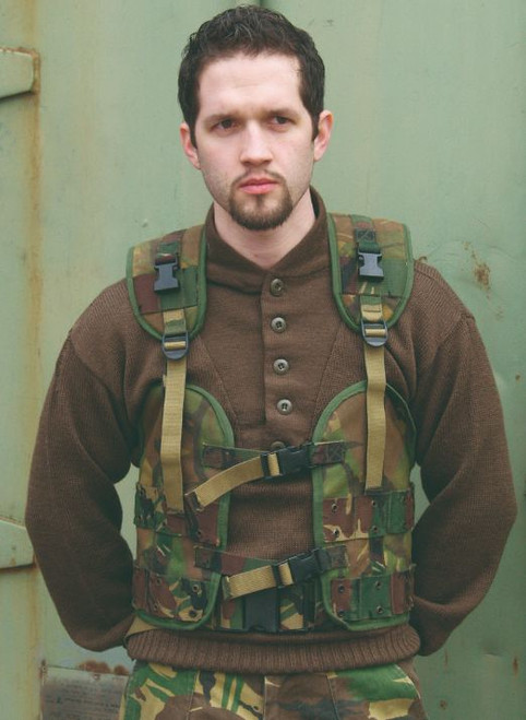 Dutch Armed Forces Camo Load Bearing Vest