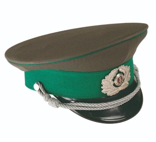 East German BG Visor Hat