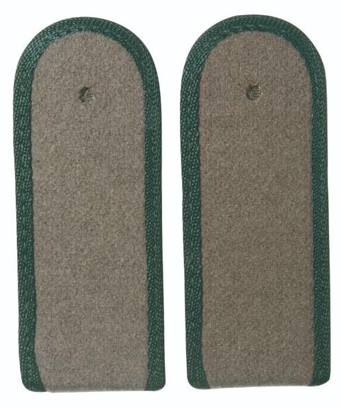 East German Dark Green EM Shoulder Boards