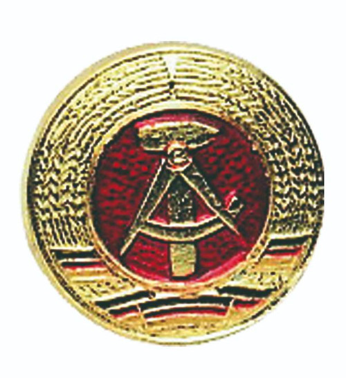 East German Gold Metal Cocade