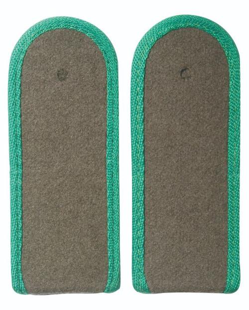 East German Green EM Shoulder Boards