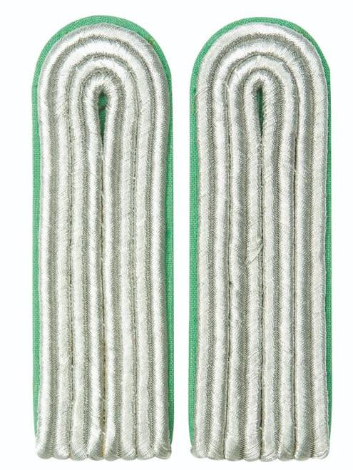 East German Green Lt. Shoulder Boards