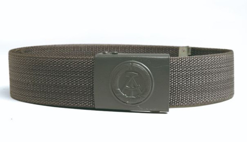 East German Armed Forces Grey Combat Belt w/Buckle