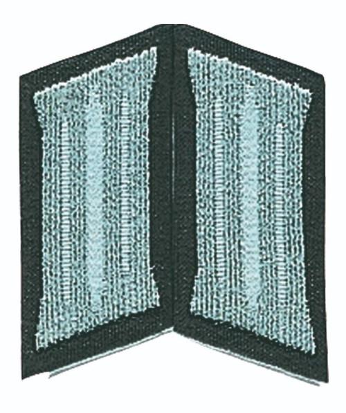East German Grey EM Collar Tabs
