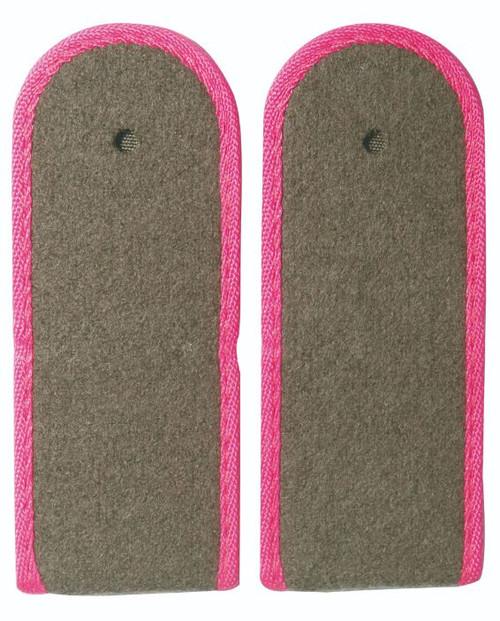 East German Pink EM Shoulder Boards