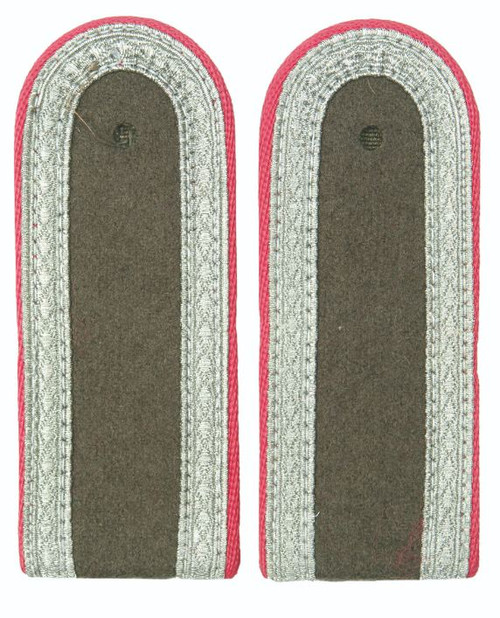 East German Pink Sgt. Shoulder Boards