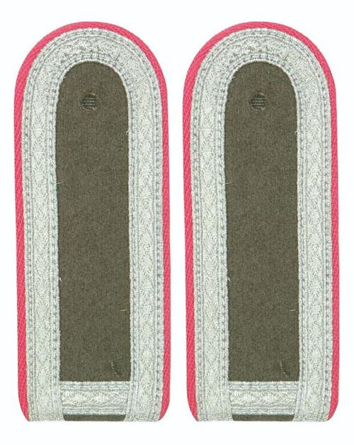 East German Pink St. Sgt. Shoulder Boards