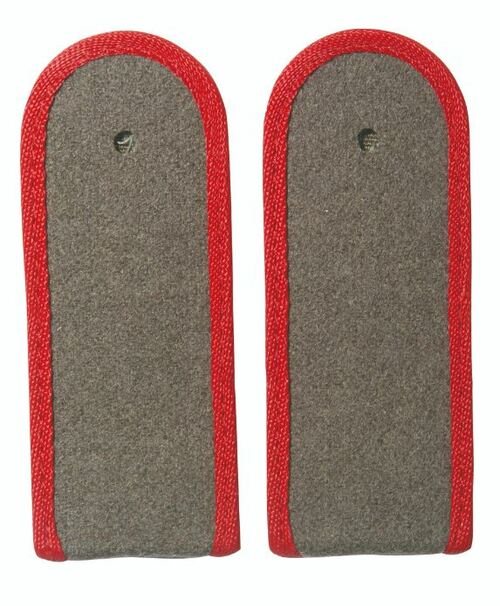 East German Red EM Shoulder Boards