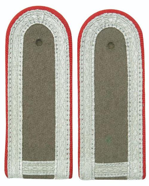 East German Red St. Sgt. Shoulder Boards