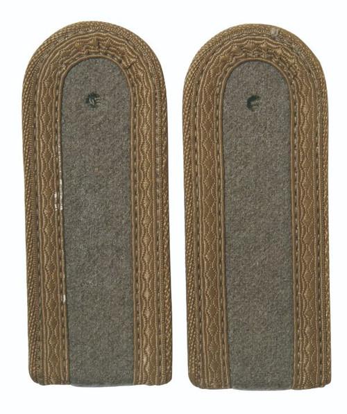 East German Subdued Sgt. Shoulder Boards