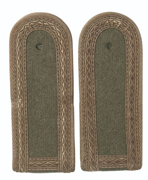 East German Subdued St.Sgt. Shoulder Boards