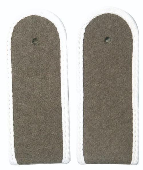 East German White EM Shoulder Boards