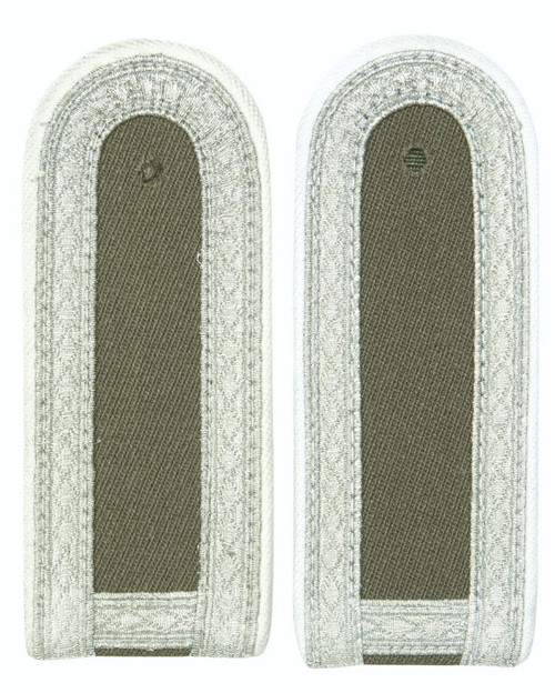 East German White St.Sgt. Shoulder Boards