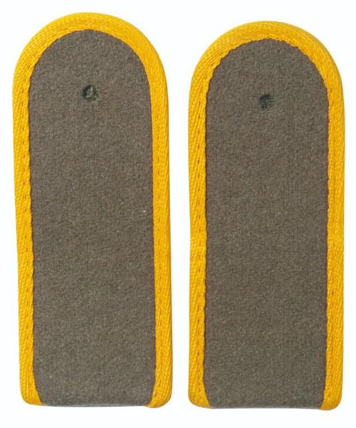 East German Yellow EM Shoulder Boards