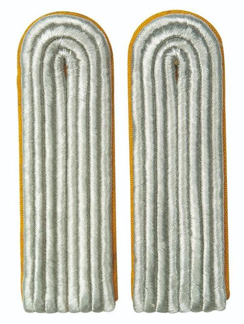 East German Yellow Lt. Shoulder Boards