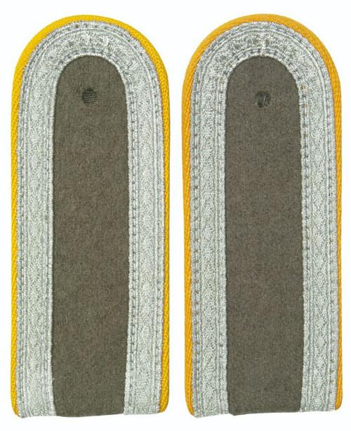 East German Yellow Sgt. Shoulder Boards