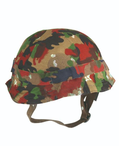 Swiss Armed Forces M71 Camo Helmet Cover