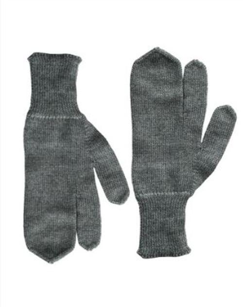 Swiss 3-Fgr. Wool Gloves