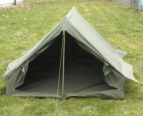 French OD 2-Man F1 Tent w/Ground Sheet