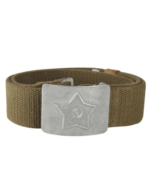 Russian Armed Forces OD Combat Belt w/Buckle
