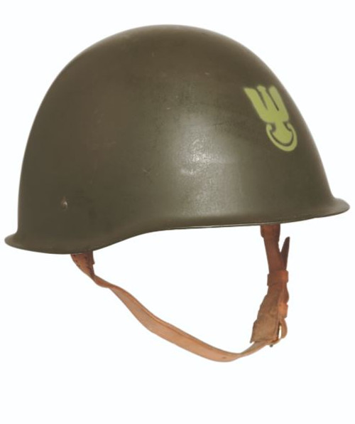 Polish Armed Forces OD Steel Helmet
