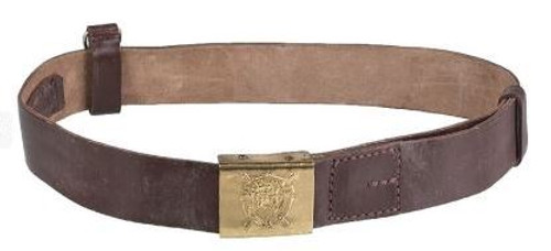 Romanian Armed Forces Leather Belt
