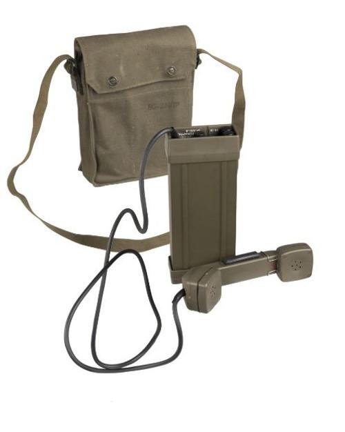 Norwegian Armed Forces Tp-6N Field Phone w/Bag
