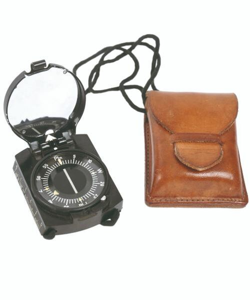 Polish Army Compass w/Case